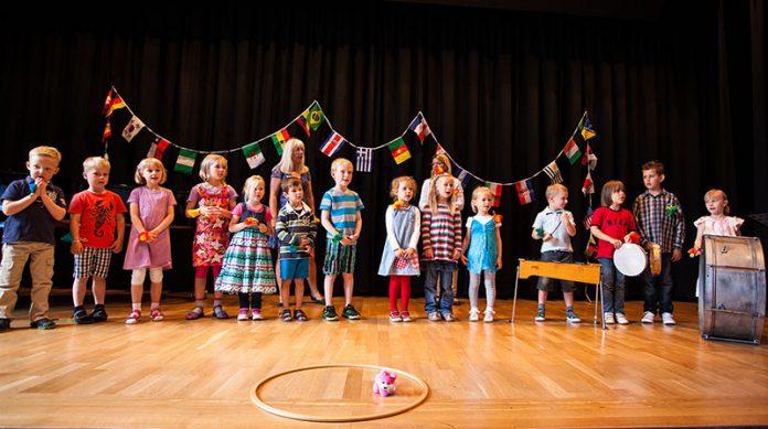 Sommerfest der kleinen Instrumente - Musikalische Früherziehung Musikschule des Landkreises Oldenburg