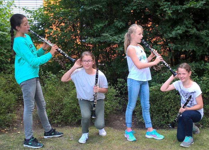 Klarinettenensemble Ganderkesee Heumann Musikschule des Landkreises Oldenburg