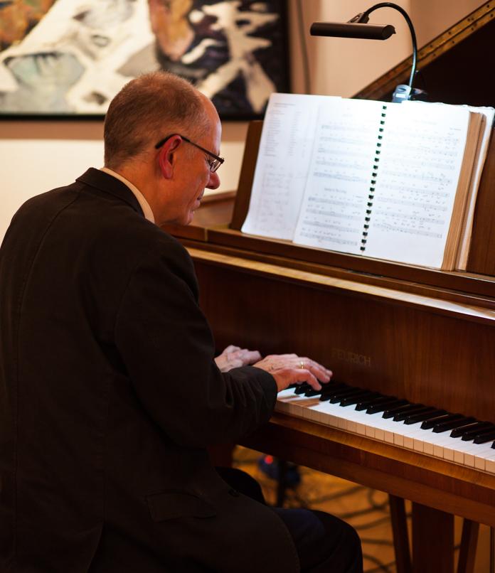 Musikschule des Landkreises Oldenburg, Dozentenkonzert Jazz 5.2.2017, Haus Müller, Ganderkesee: Rafael Jung, Klavier