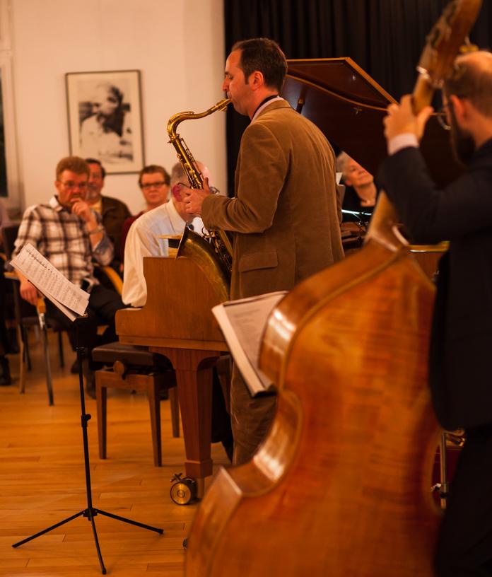 Musikschule des Landkreises Oldenburg, Dozentenkonzert Jazz 5.2.2017, Haus Müller, Ganderkesee: Rafael Jung, Ivan Romero, Gerhard Suhlrie, Thomas Milowski